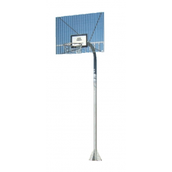 Kosárlabda palánkhorgony, fém